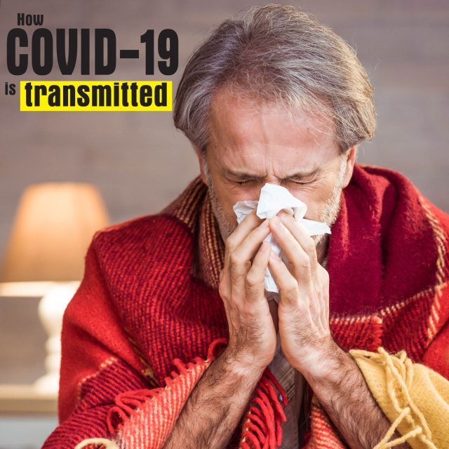 How COVID-19 is transmitted - The CDC notes the following are some ways that researchers, as of March 2020, feel that the virus is transmitted. #Coronavirus #COVID19