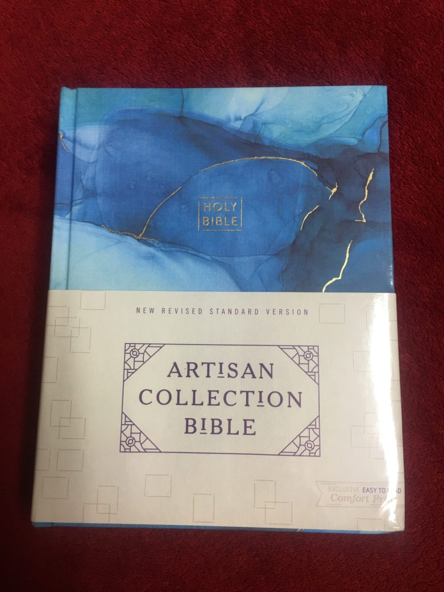 Artisan Collection Journaling Bible Review - This is my review of this special Bible from Zondervan. #BibleGatewayPartner #BGBG2 #BibleJournaling #Zondervan