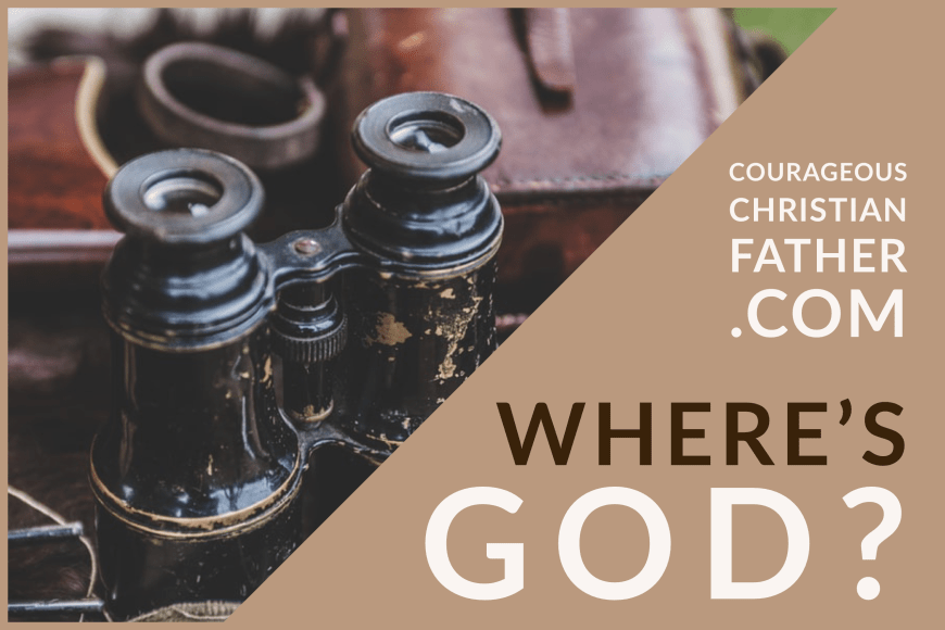 Where's God? A common question often asked in trails, storms, pandemics and other trying times. We often wonder where He is during them. #WheresGod