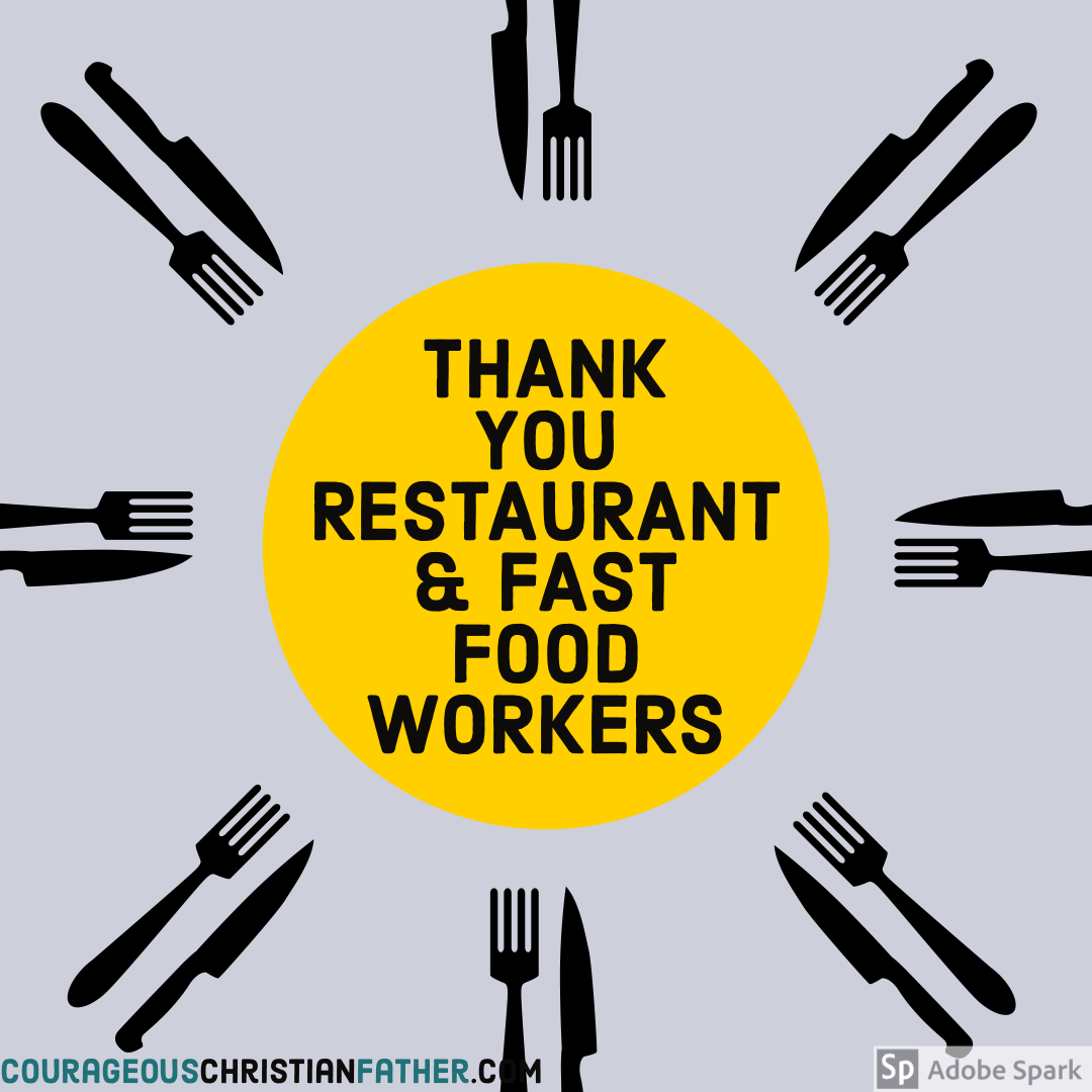 Thank You Shoutouts - Resturants & Fast Food Workers