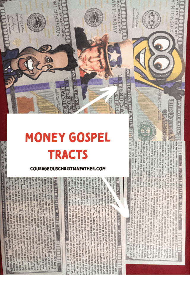 Money Gospel Tracts