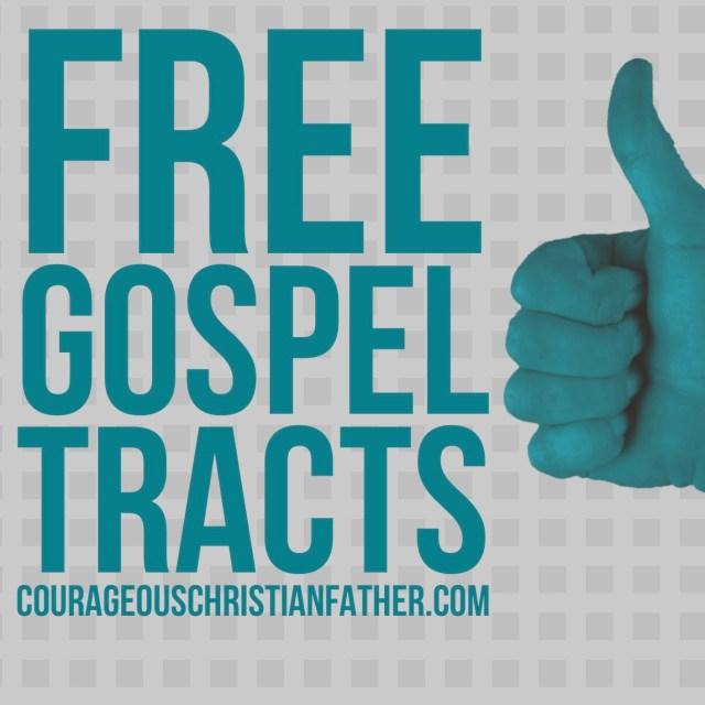 Free Gospel Tracts #GospelTracts