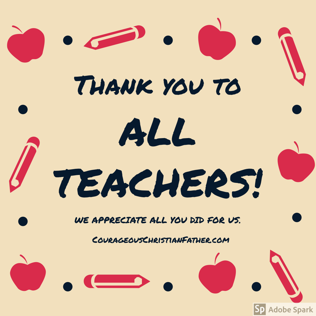 Thank You Shoutouts - Teachers