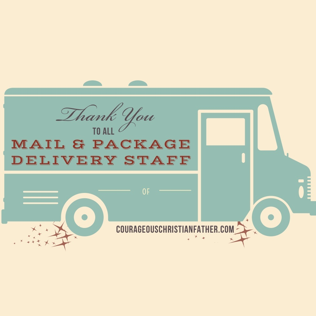 Thank You Shoutouts - Thank You Mail & Package Delivery Staff