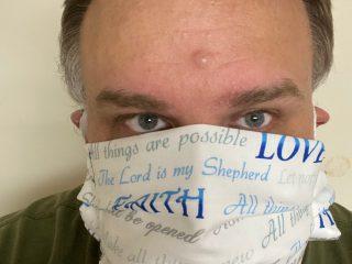 Faith Love Hope Face Mask
