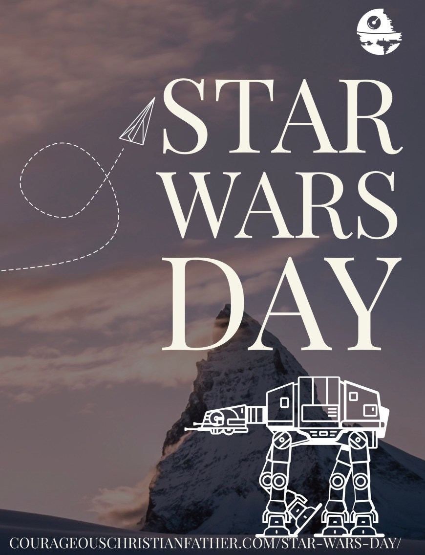 Star Wars Day - in a galaxy far far away there came a space-themed holiday based on the movie series Star Wars. #StarWars #StarWarsDay MaytheFourth #Maythe4thBeWIthYou