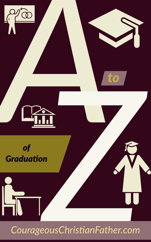 A-Z of Graduation - Pertains to graduating or what it took to graduate. #Graduation