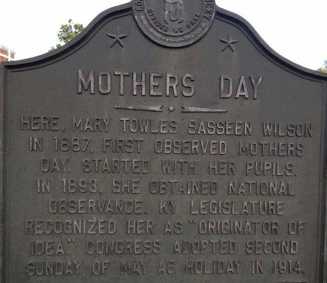 Mother's Day was Invented in Kentucky
