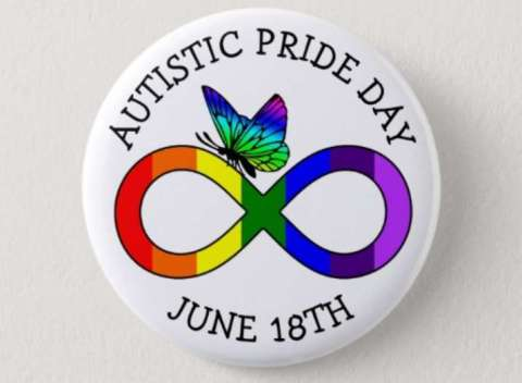 Autistic Pride Day - celebrates the autistic identity of those on the autism spectrum. #AutisticPrideDay