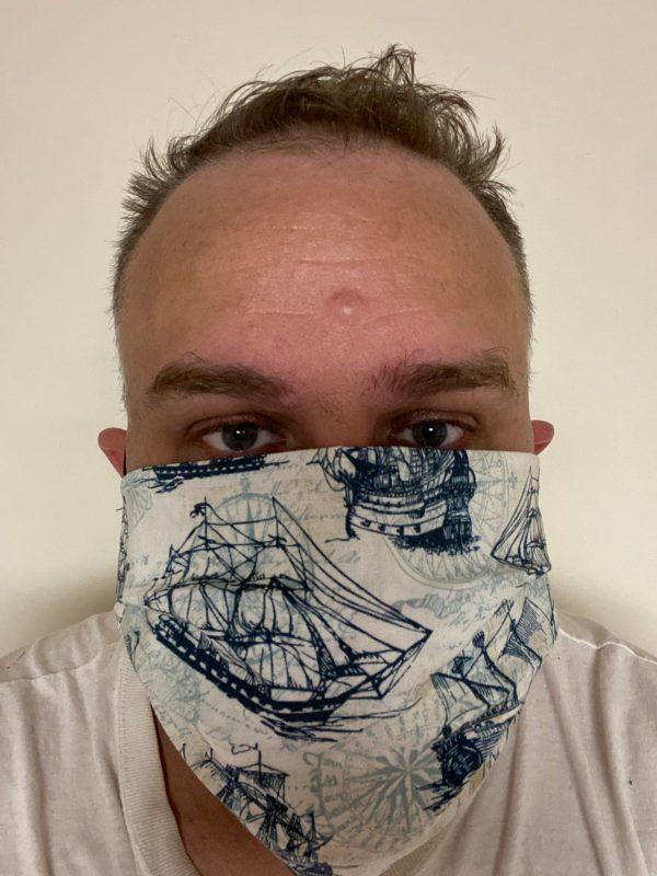 Naval Ship Face Mask