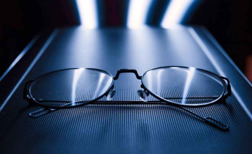 Why do we clean our eye glasses? That answer is simple. We clean our eye glasses so we can see clearly with them. #EyeGlasses  Photo by Ro han on Pexels.com