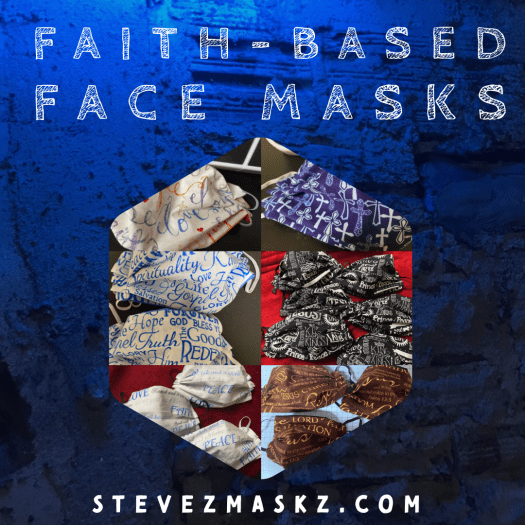 Faith-based Face Masks - SteveZ MaksZ