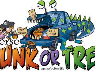 Reverse Trunk or Treat, Reverse Trick or Treat - Instead of you going trunk to trunk or door to door getting treats, you do this instead! #TrunkorTreat #TrickorTreat #Halloween