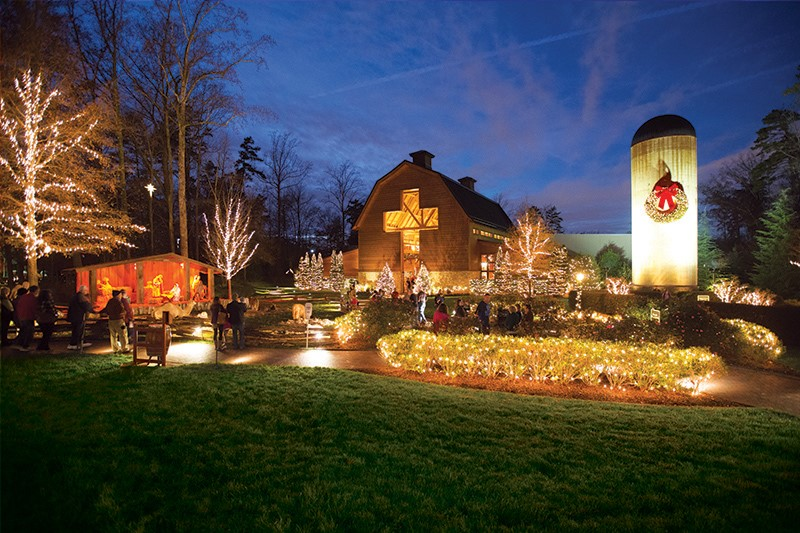 Billy Graham Library hosts annual Christmas celebration