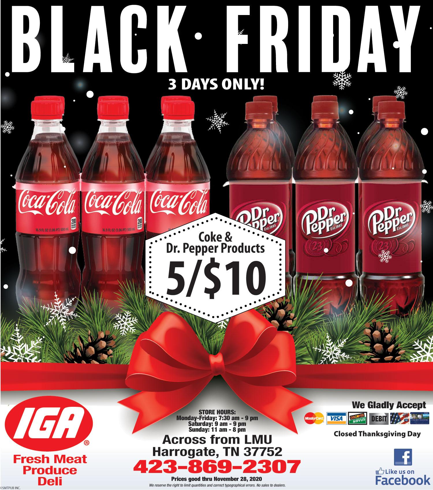 Black Friday IGA Ad