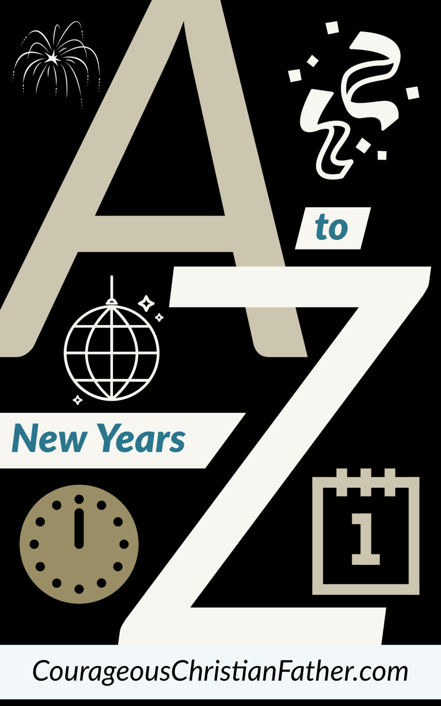 A-Z of New Years - Here is an A to Z list of things related to New Years. #NewYears