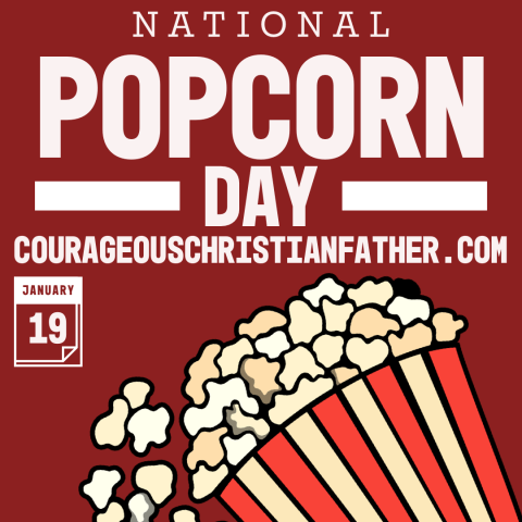 National Popcorn Day - a day set aside for that lovely snack we usually eat while watching a movie or other entertainment. #Popcorn #PopcornDay