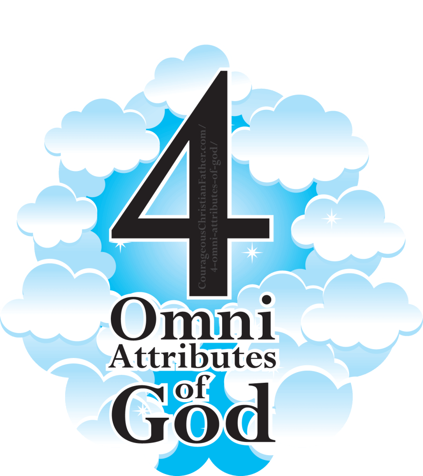 4 Omni Attributes of God - In this blog post I share the four omni's of God. #Omni