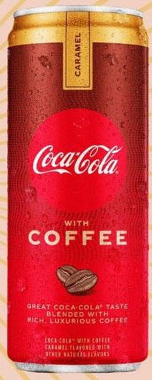 Coca-Cola Coffee with Carmel
