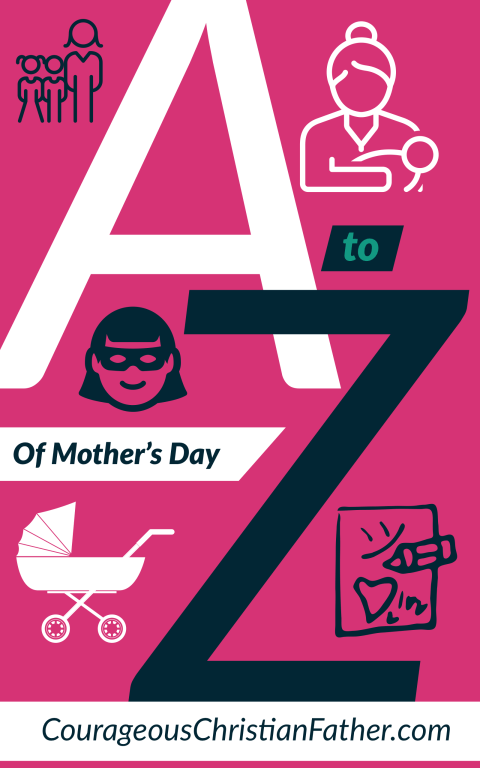A-Z of Mother's Day - Here is a list from A to Z about Moms and/or Mother's Day. #MothersDay