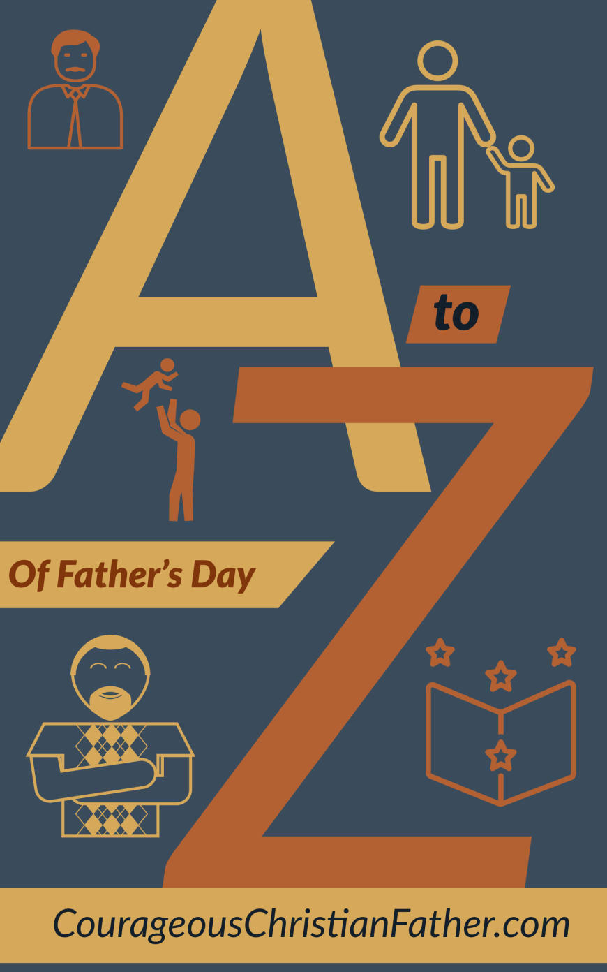 A-Z of Father's Day - An A to Z list of things related to Father's Day and/or being a Dad. #FathersDay
