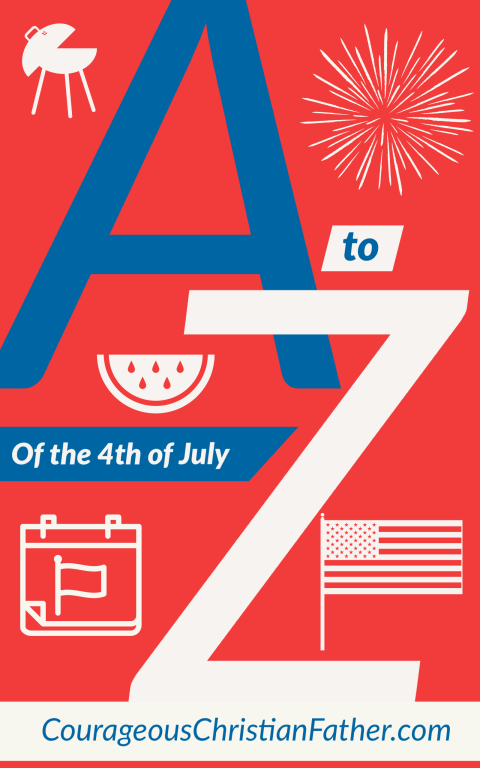 A-Z of 4th of July - This is a list of things A to Z about the 4th of July (A-Z of Independence Day). #4thofJuly #IndependenceDay