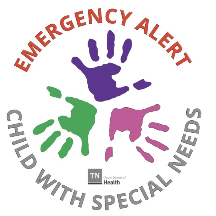 TDH Launches Emergency Alert Decal for Children with Special Needs