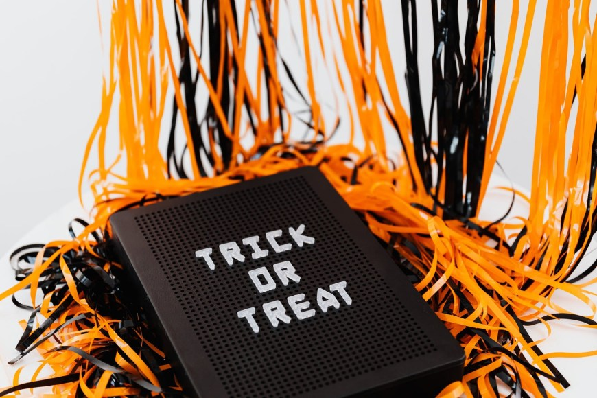 """Why do we say trick or treat - Kids and adults alike cry out """"trick or treat"""" at each house they visit. Many utter this familiar phrase without a second thought and may have no idea how this familiar custom came to be. #halloween #trickortreat #tricksortreats"""