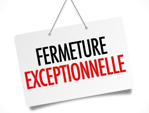 Fermeture exceptionnelle de la Mairie de Courçon