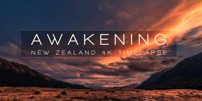 timelapse paysages de Nouvelle Zelande