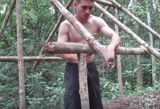 construction cabane en bois