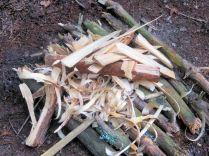 (3) Plateforme de gros bois en dessous