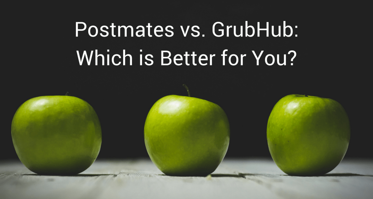 Postmates vs  GrubHub: Which is Better for You? - Courier Hacker