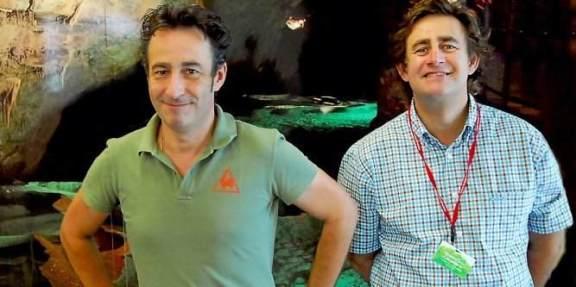 Jérôme et Christophe Bouquet, les deux dirigeants de la grotte de la Cocalière gèrent toute une armée d'employés.