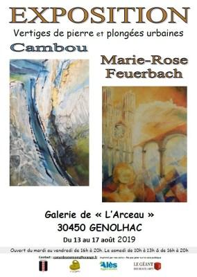 Affiche Cambou et M--R Feuerbach