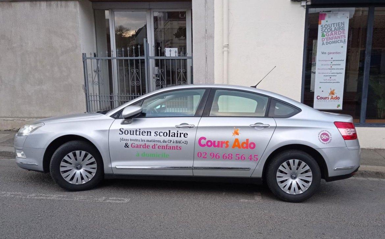 Voiture agence Cours Ado St-Brieuc