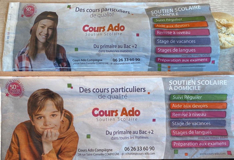 Sacs à pains Cours Ado Compiègne