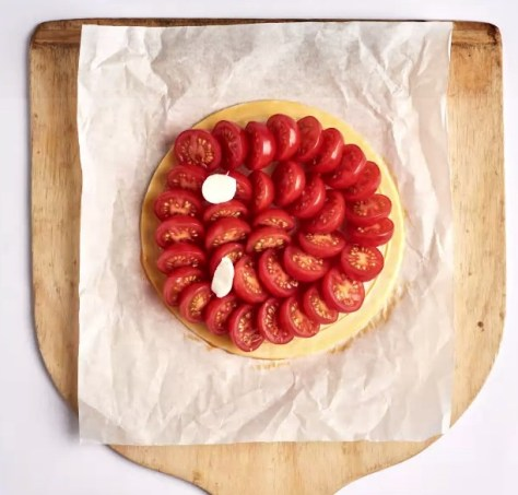cuisine, tarte tomate
