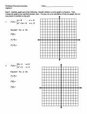 Piecewise Worksheet And Answers Pdf Worksheet Piecewise