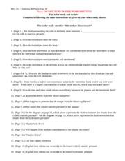 Pe Digestive System Study Guide