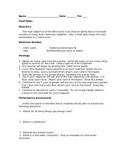 Symbiosis Worksheet