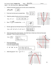 Chapter 1 Practice Test Answer Key