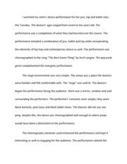 Social Dancing Essay - From ballroom to breaking dance social ...