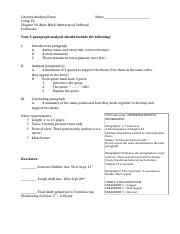Ap Lit Essay Examples