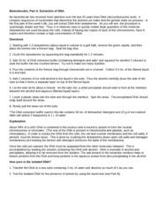Biomolecules Review Worksheet