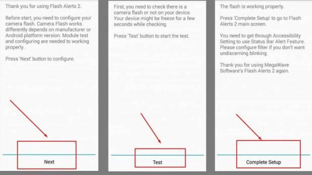 شرح تطبيق Flash Alerts 2