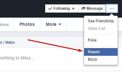 إغلاق أي حساب فيس بوك يستخدم اسمك أو صورك بطريقة رسمية وصحيحة