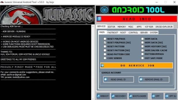 JURASSIC Universal Android Tool 03