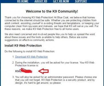 K9 Web Protection برنامج حجب المواقع الغير مرغوب فيها 3