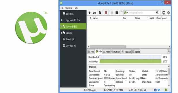 تحميل برنامج utorrent 2018 لتحميل ملفات التورنت - بيت الكورسات